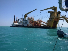 Dredge works commences at Lamu first berth