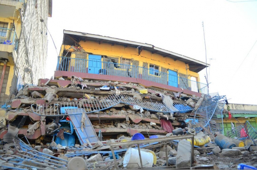Seven storey building collapses in Embakasi