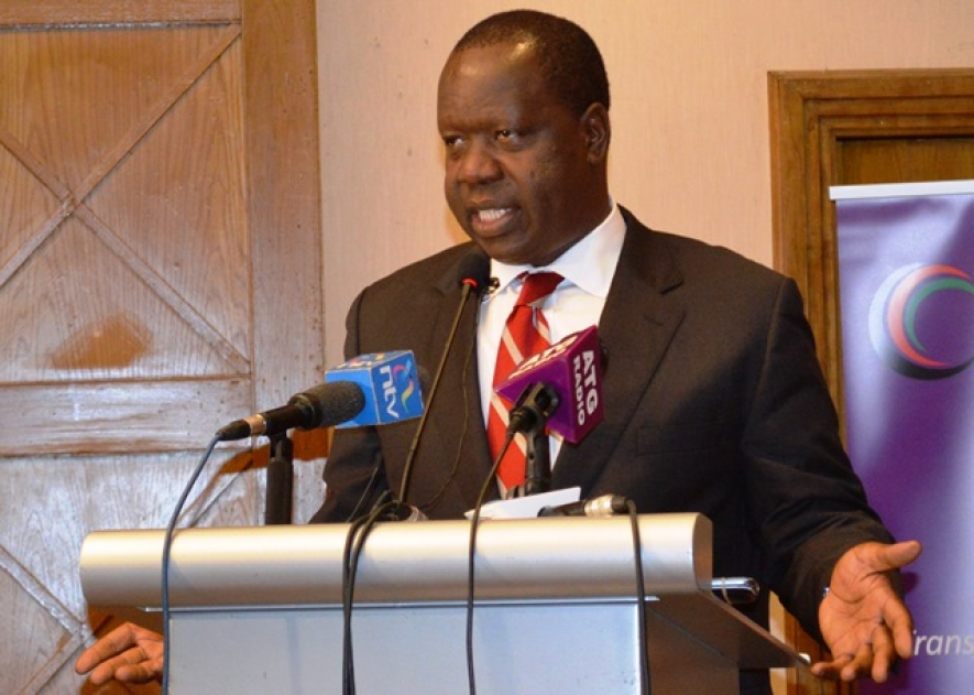 Education CS Dr. Fred Matiangi