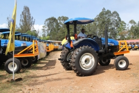 Butali Sugar Company boosts its cane haulage capacity with a new fleet of New Holland tractors from CMC Motors
