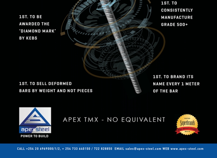 Apex Steel gives you the 'Power to Build'