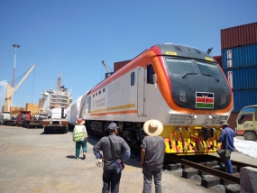 Kenya railways receives more locomotives and rolling stock for SGR operations