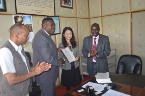 Water CS inks 27.3 billion contracts for Nzoia irrigation project and Mwache dam