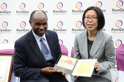 JICA honors KenGen as they embark on adding another 140 MW into the grid