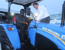 CMC Motors launches New Holland TT4 Tractor