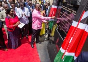 President Kenyatta launches tarmacking of Ksh18.4 billion road in Ukambani