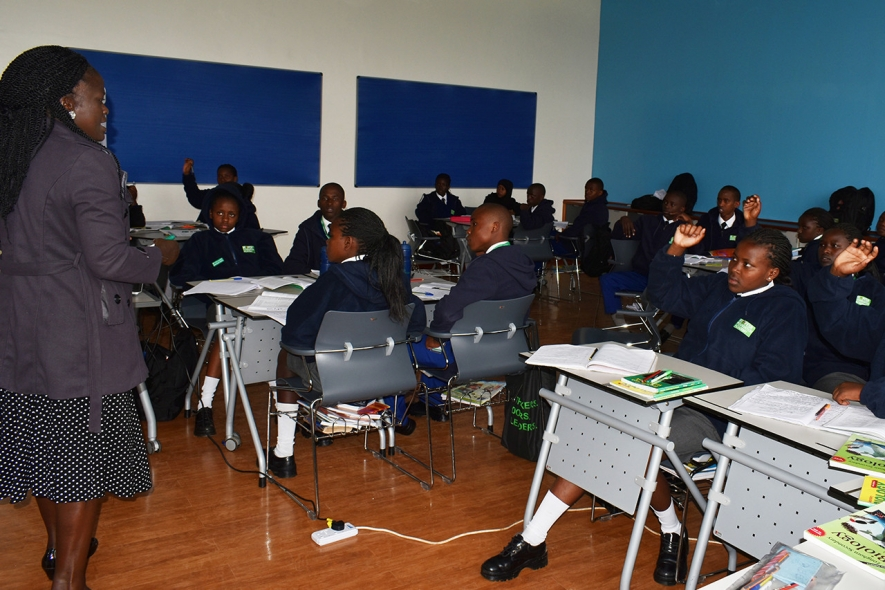 Learning experience at the Mpesa Foundation Academy