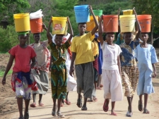 45% of Kenya's population struggles to access clean water