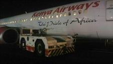 Kenya Airways aircraft damaged in accident
