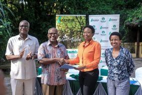 Lafarge Eco Systems, a Bamburi subsidiary, partners with Pwani University