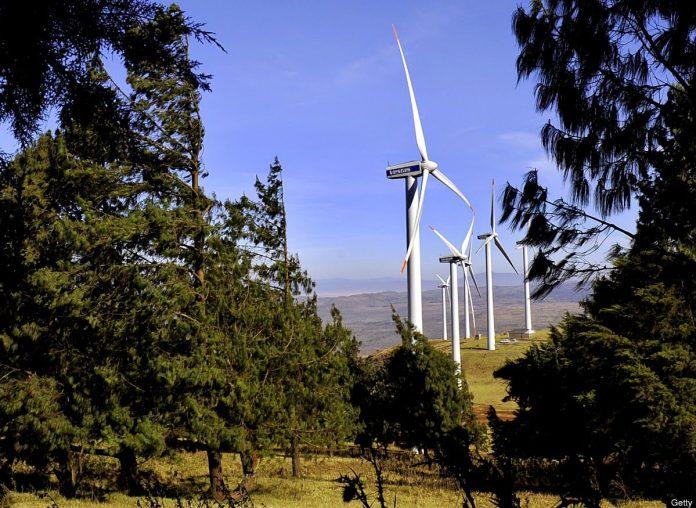 Kipeto Wind Power farm
