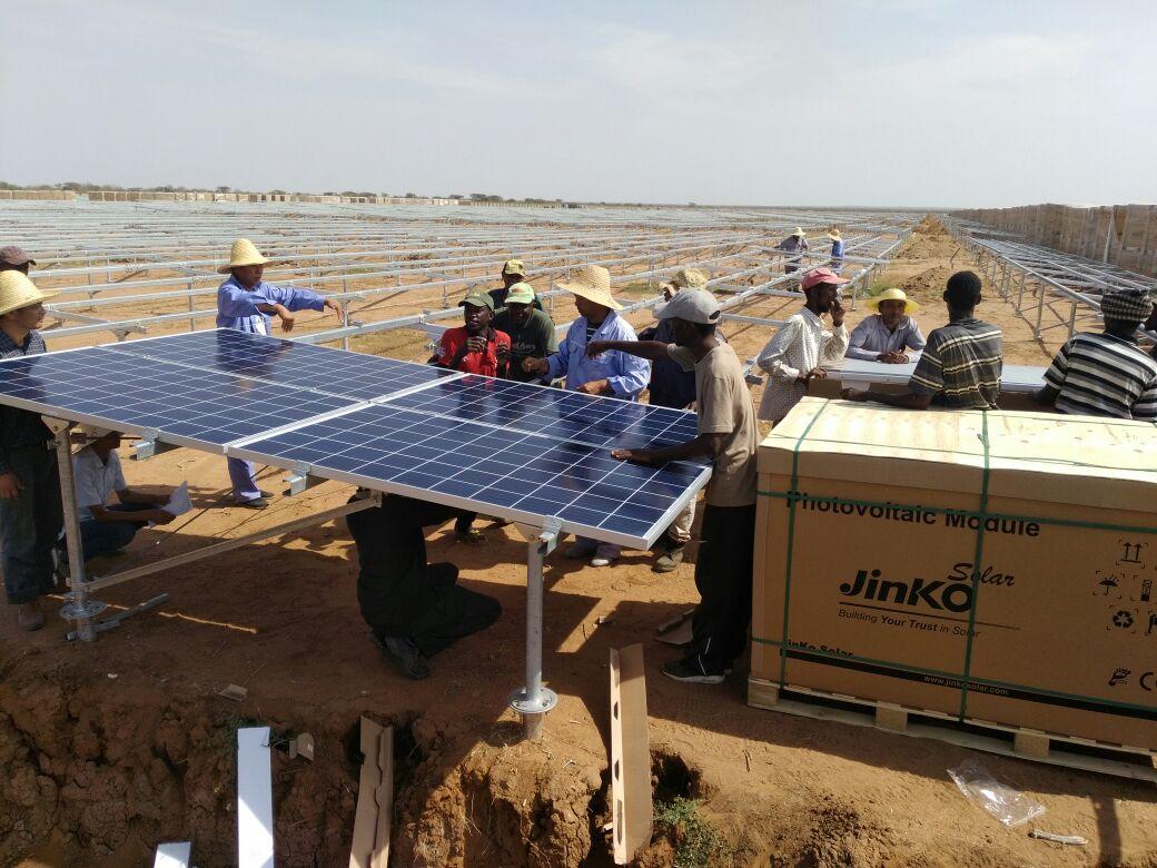 Garissa solar power
