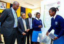 SAFARICOM BLAZE, YOUNG SCIENTISTS KENYA LAUNCH